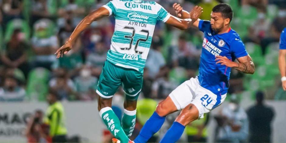 Cruz Azul-Santos