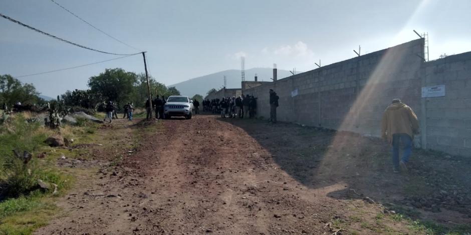 Teotihuacan predio asegurado
