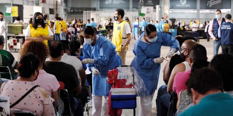 Vacunación contra COVID-19 a personas de 50 a 59 años de edad en Jalisco.
