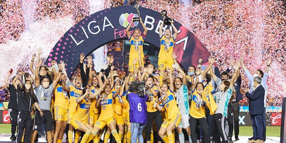 Tigres Campeón Liga Femenil MX