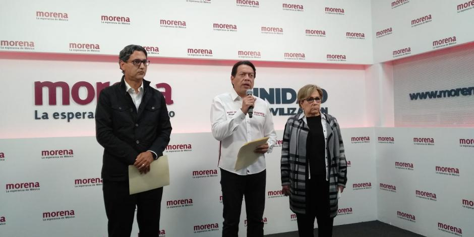 Mario Delgado, presidente de Morena pide investigación a FGR