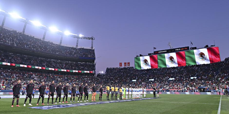 Afición México vs Costa Rica