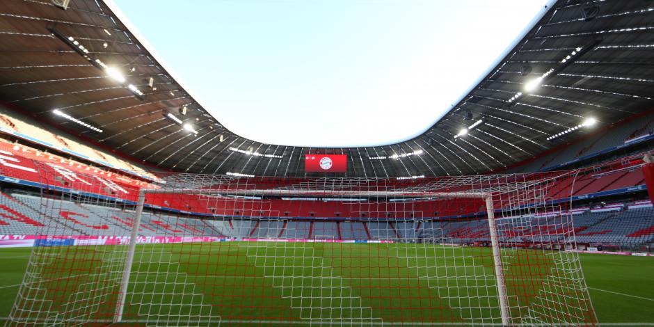 EUROCOPA: Partidos en Múnich contarán con 20% de capacidad en estadio