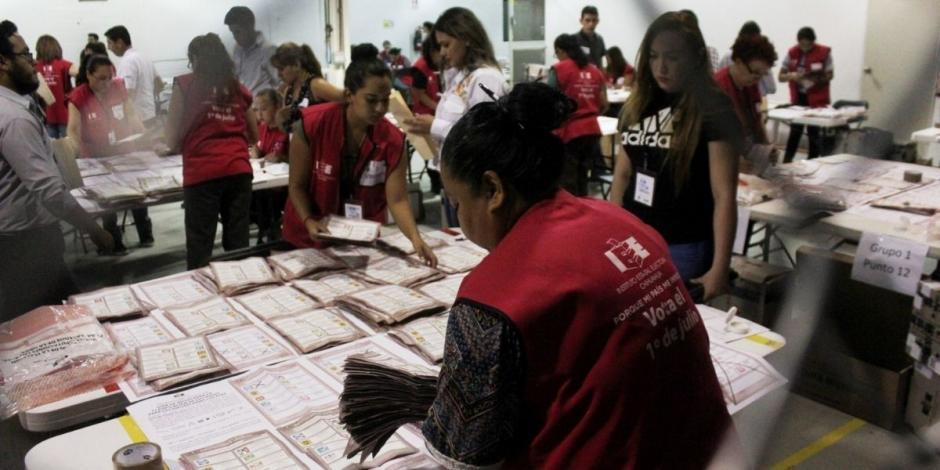 PREP INE Elecciones conteo de votos