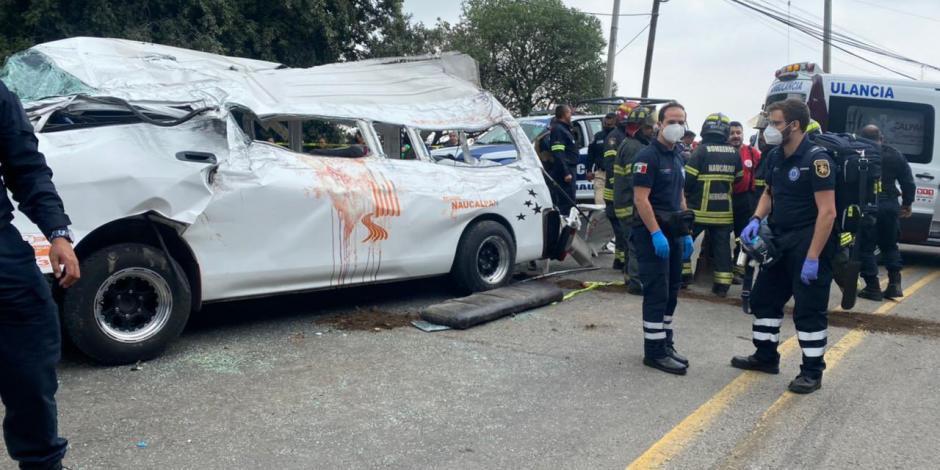 Accidente Naucalpan-Toluca