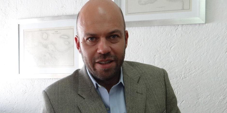 El director de Finca Santa Veracruz, en una imagen de archivo.