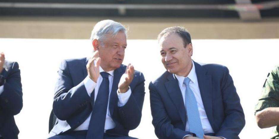 AMLO y Alfonso Durazo en foto de archivo.
