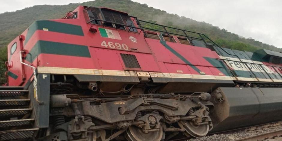 Descarrilamiento de Tren en Jalisco