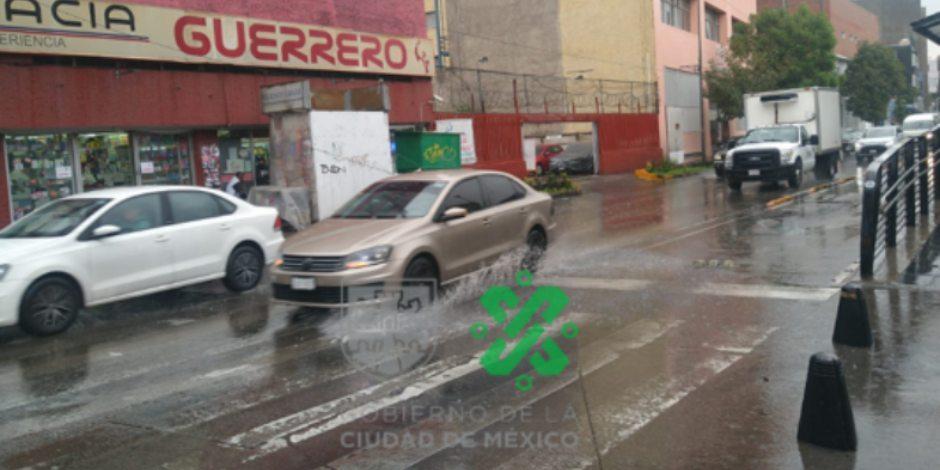 Lluvia constante-cdmx-metro