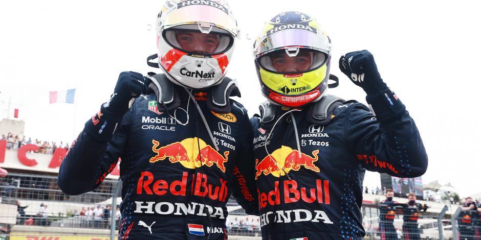 Checo Pérez Verstappen F1 Red Bull