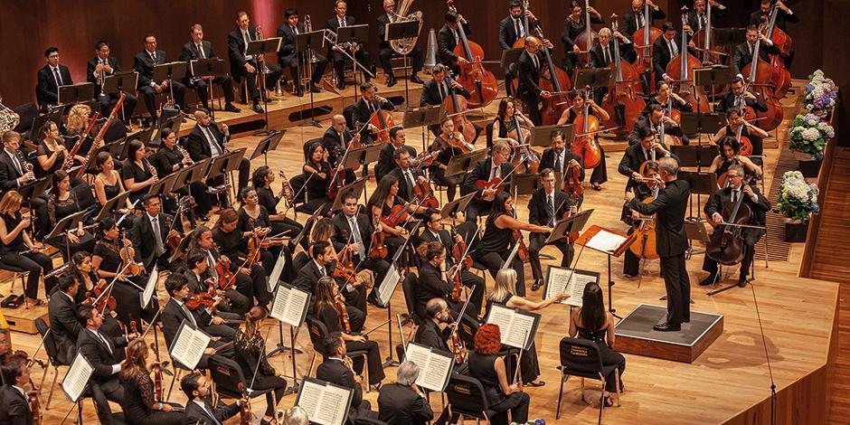 Instrumentistas de la agrupación, en una foto de archivo.