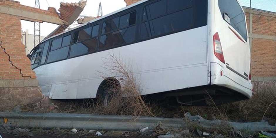 Choque de autobus