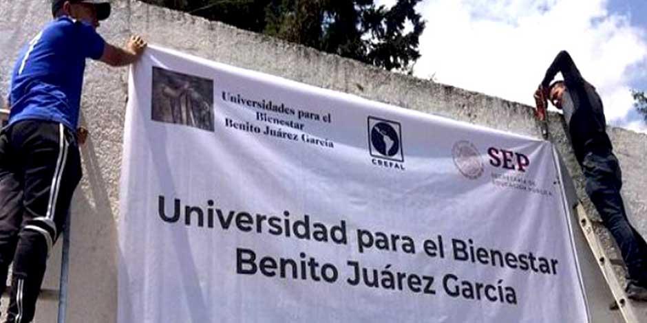 Universidades para el Bienestar