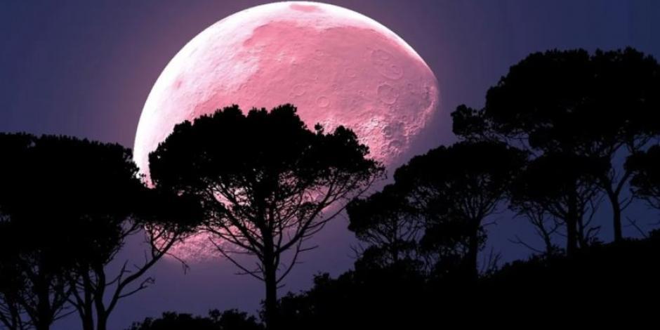 luna de fresa