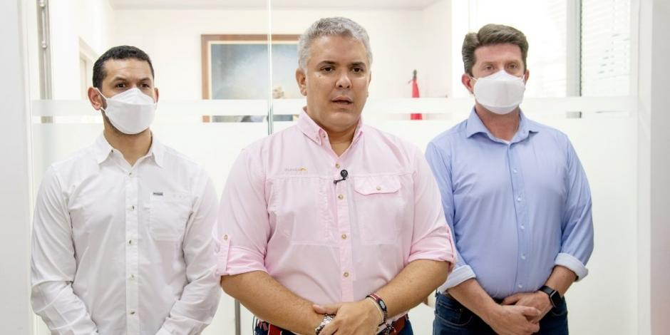 Presidente de Colombia, Iván Duqeu