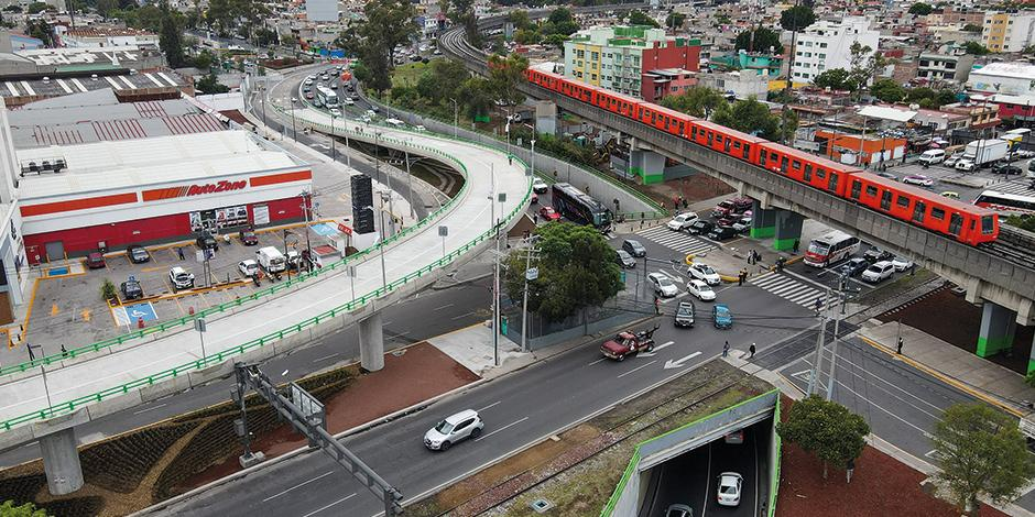 Este domingo se inauguró el puente vehicular que conecta el viaducto y Zaragoza.