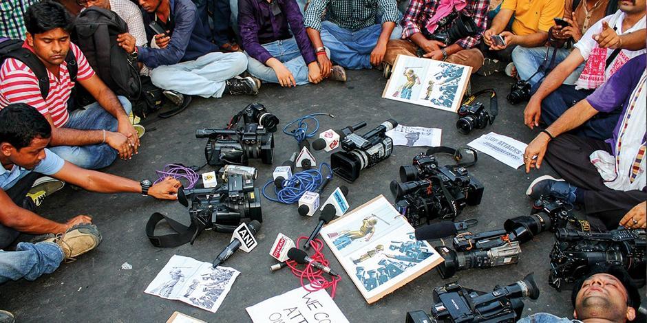 Arrecia ataque a periodistas en Nicaragua... hay 40 bajo asedio