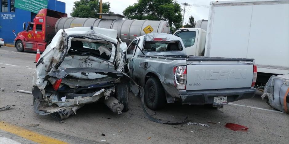 Accidente en carretera de Guadalajara