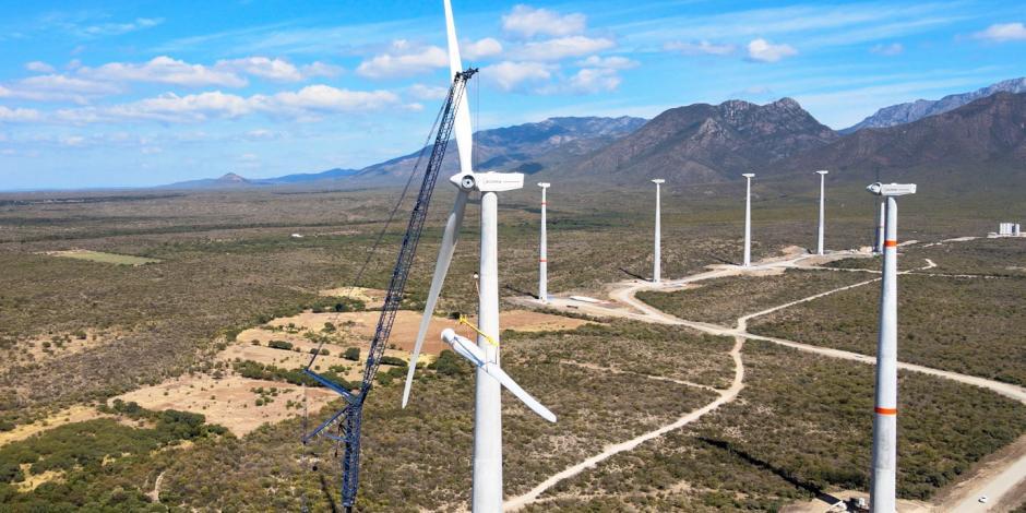 Megaparque eólico San Carlos de la firma española Acciona, en Tamaulipas.
