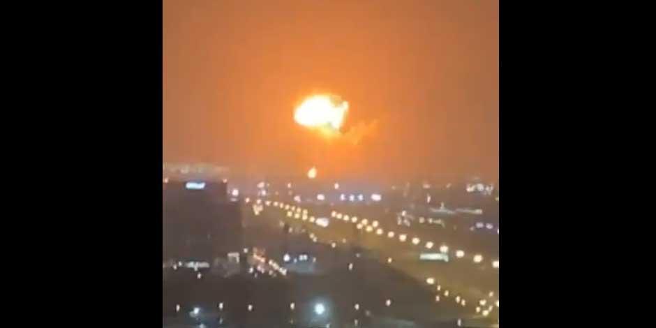 Explosión Dubai