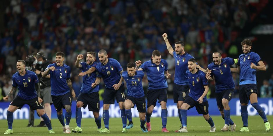 Italia derrota a Inglaterra en la tanda de penaltis y se corona en la Eurocopa 2021