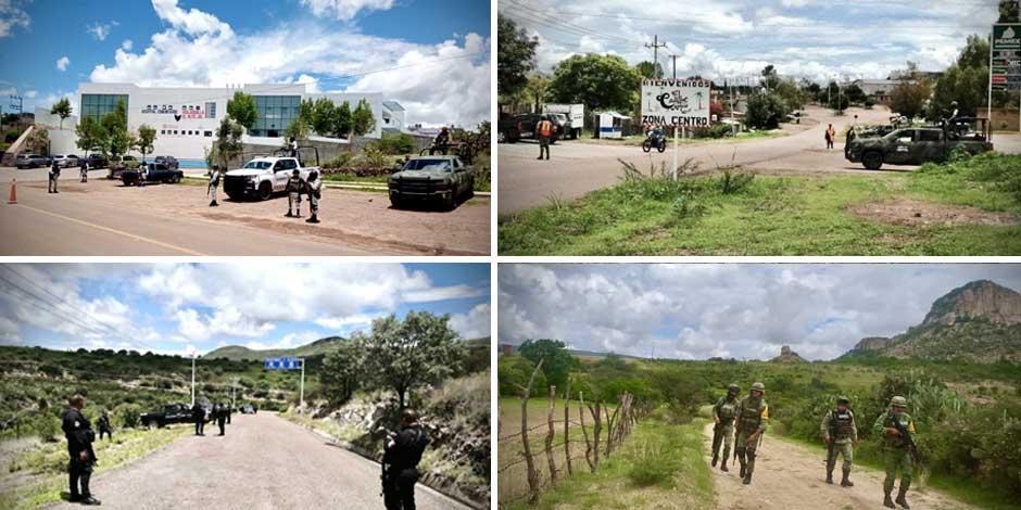 Violencia Jalisco y Zacatecas