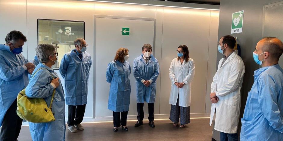 SRE analiza producción de nueva vacuna italiana contra COVID-19 en México