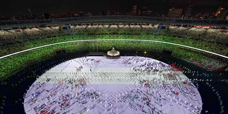 Ceremonia inaugural Tokio