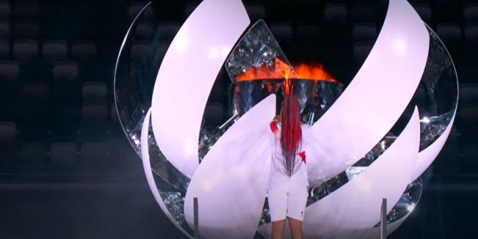 Juegos Olímpicos 2021: Se enciende el pebetero de Tokio