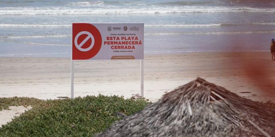 Cierre de playas