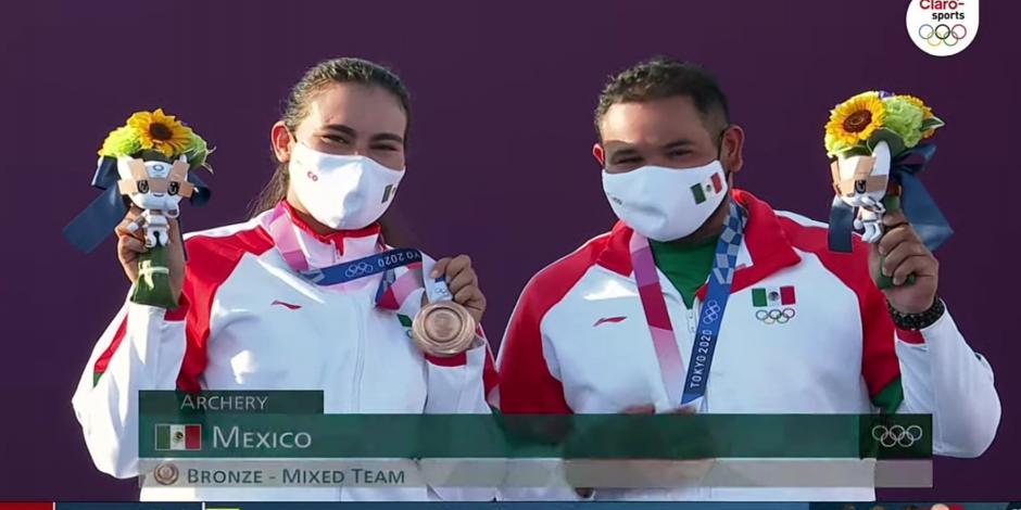 Alejandra Valencia Luis Álvarez Tiro con Arco Juegos Olímpicos