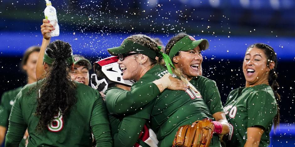 TOKIO 2020: México consigue histórico primer triunfo en softbol, ante Italia