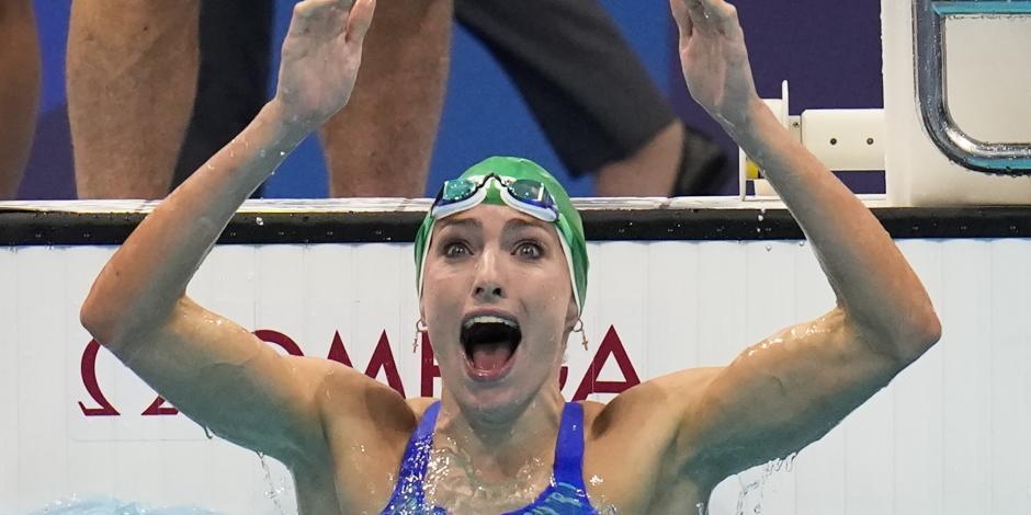 TOKIO 2020: Tatjana Schoenmaker impone primer récord individual en estos Juegos Olímpicos