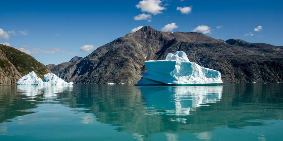 groenlandia se derrite el hielo