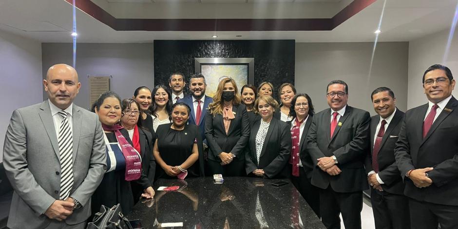 Respalda Marina del Pilar a la XXIV Legislatura de BC