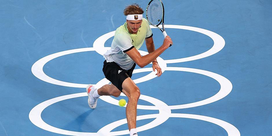 Alexander Zverev, ganador del oro olímpico en tenis
