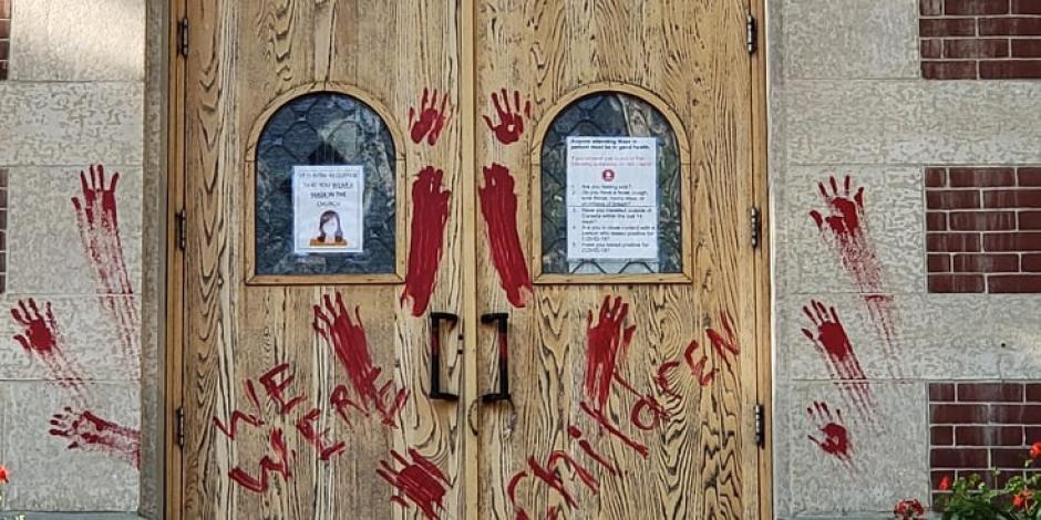 ataque a iglesias en Canadá