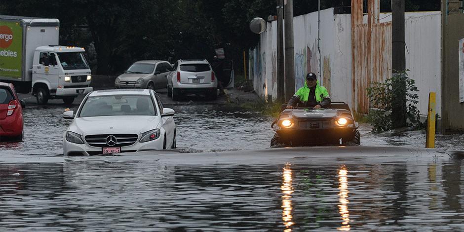 INUNDACIONES y climas extremos son producto del cambio climático.