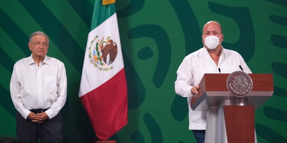 Reconoce AMLO baja de incidencia delictiva en Jalisco