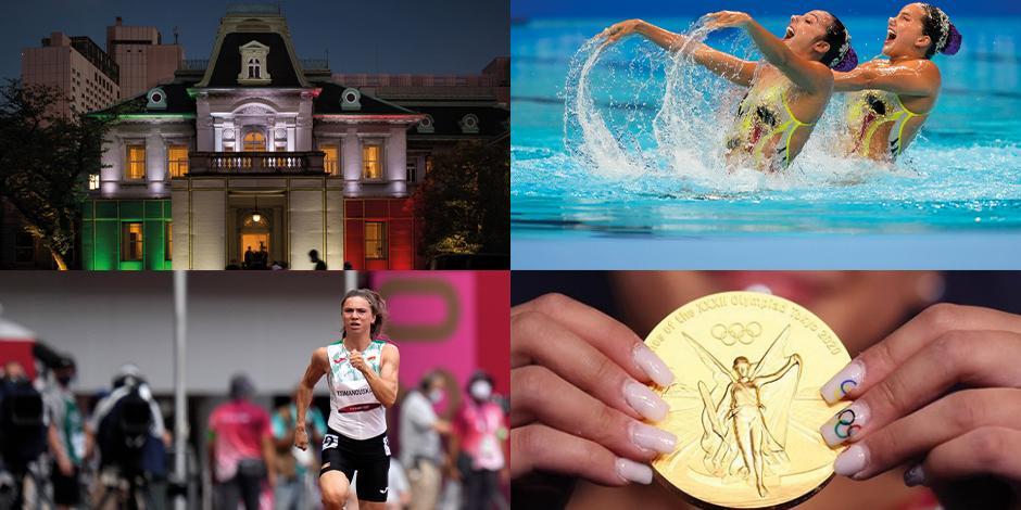 Desde pequeños detalles en las uñas de los y las deportistas hasta casas de lujo es lo que se vive en los Juegos Olímpicos Tokio 2020