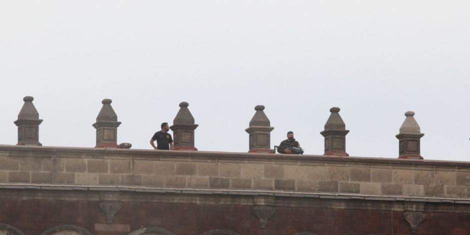 Drones-Palacio Nacional-Seguridad-AMLO