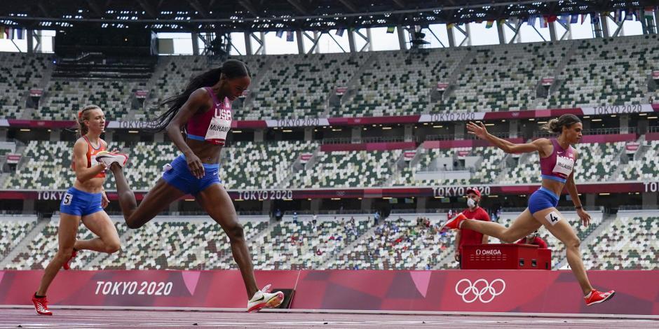 Tokio 2020: Sydney McLaughlin destroza su récord y se cuelga el oro en los 400m con vallas