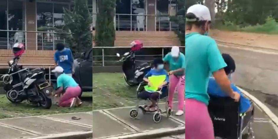 Mujer hace pasar por discapacitada a su hija: