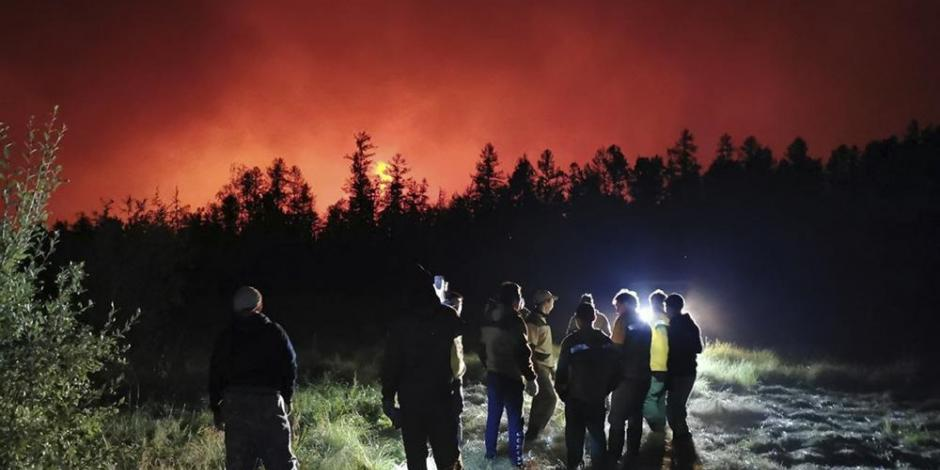 Incendio Forestal en Siberia