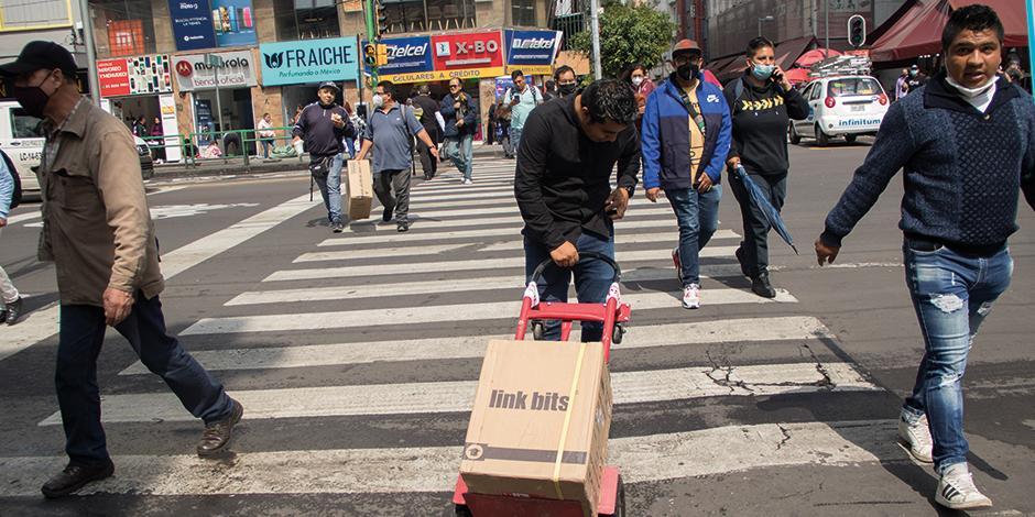 LA COPARMEX señaló que la reactivación económica de la Ciudad de México ha sido lenta, aunque constante.