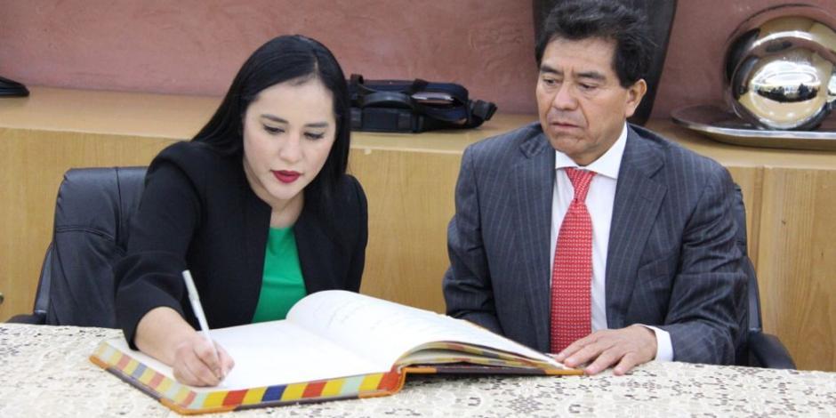 Sandra Cuevas, alcaldesa de la Cuauhtémoc