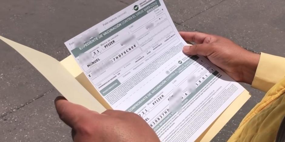 certificados de vacunación falsos