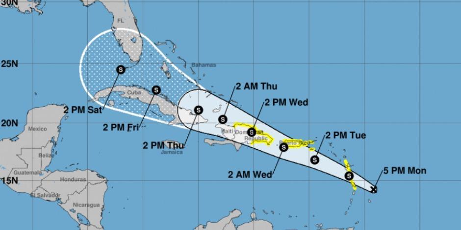Ciclón tropical-Quintana Roo-