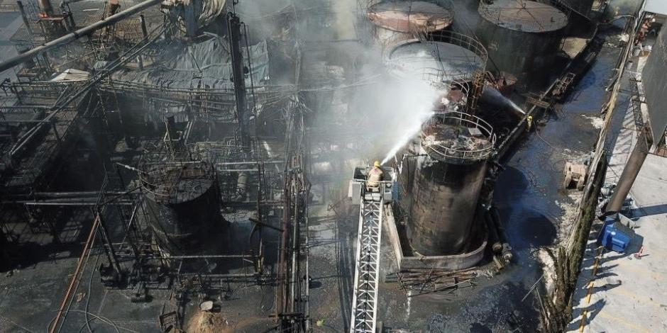 Explosión de fábrica en Santa Catarina, Nuevo León