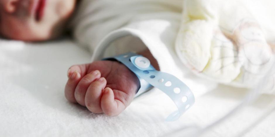 bebé muere por covid-19